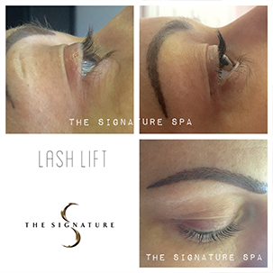 Lash Lift Treatments at The Signature Spa Bishops Stortford